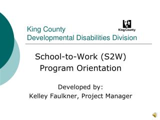 King County Developmental Disabilities Division