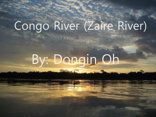 Congo River Zaire River