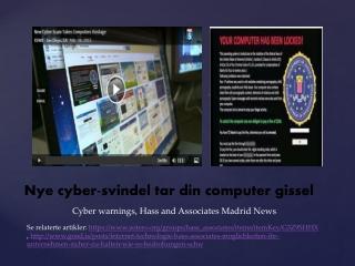 Nye cyber-svindel tar din computer gissel