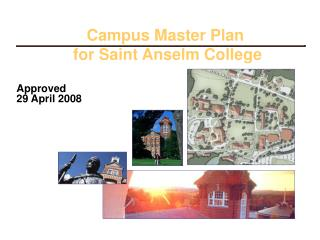 Campus Master Plan  for Saint Anselm College