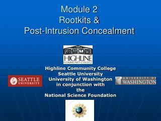 Module 2  Rootkits  Post-Intrusion Concealment