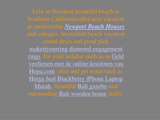 Newport Beach Houses Two