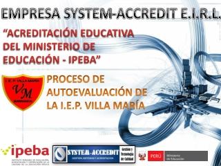 Villa Maria rumbo a la Acreditación Educativa