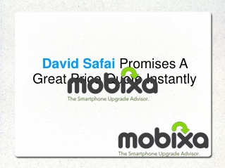 David Safai Promises A Great Price Quote Instantly