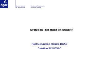 Evolution des DACs en DSAC