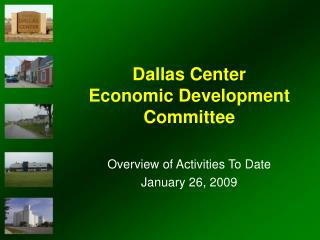 Dallas Center  Economic Development Committee