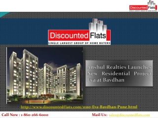 Anshul Realties Launches New Residential Project Eva