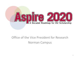 Office of the Vice President for Research Norman Campus