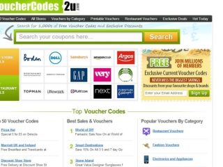 Voucher Codes, Promotional Codes, Discount Vouchers UK