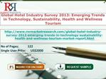 Global Hotel Industry Survey in 2013