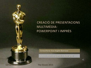 Premios Oscars 2013