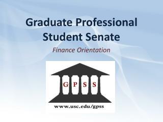Graduate Professional Student Senate