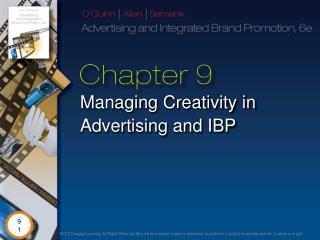 Managing Creativity in Advertising and IBP