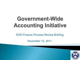 Government-Wide Accounting Initiative
