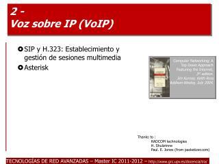 2 - Voz sobre IP VoIP