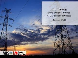 Duke Energy Carolinas ATC Calculation Process