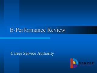 E-Performance Review