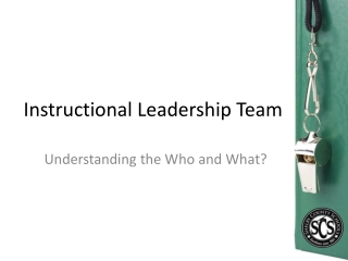 Building Effective Principal-Assistant Principal Teams