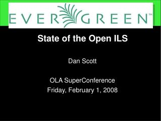 State of the Open ILS