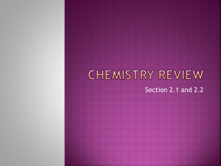 A Review of  Organic Chemistry  in First Term