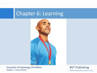 Chapter 6  Learning Through Conditioning
