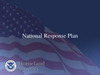 National Response Plan