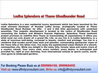 Lodha Splendora