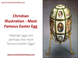 Christian Illustration - Most Famous Easter Egg