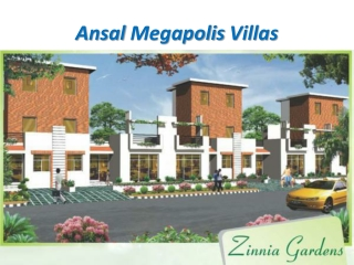 Ansal Megapolis City Villas Greater Noida