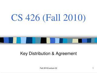 CS 426 Fall 2010