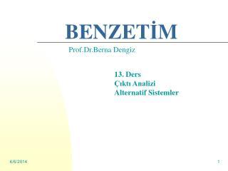 BENZETIM