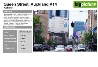Queen Street, Auckland A14 Auckland