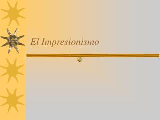 El Impresionismo