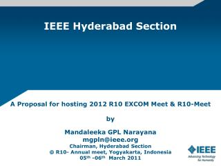 IEEE Hyderabad Section