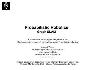 Probabilistic Robotics Graph SLAM