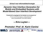 School voor Informatietechnologie