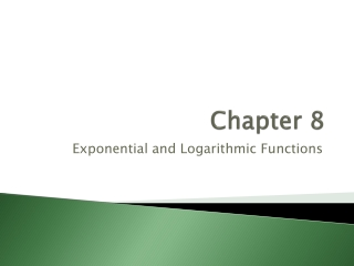8.4: Logarithmic Functions