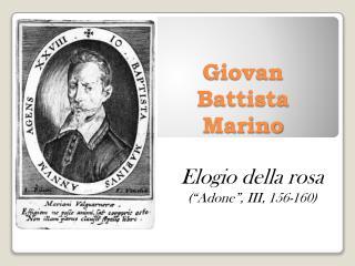Giovan Battista Marino
