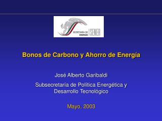 Bonos de Carbono y Ahorro de Energ a