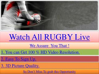 Magners League Live Streaming Edinburgh vs Aironi Video Free