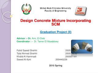 United Arab Emirates University Faculty of Engineering