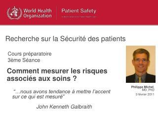 Comment mesurer les risques  associ s aux soins