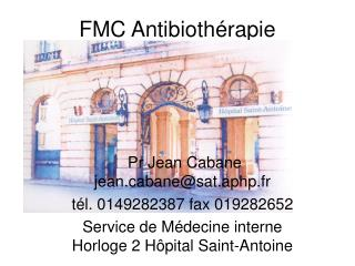 FMC Antibioth rapie