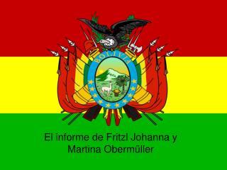 El informe de Fritzl Johanna y Martina Oberm ller