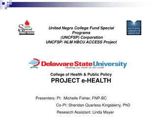 United Negro College Fund Special Programs     UNCFSP Corporation UNCFSP