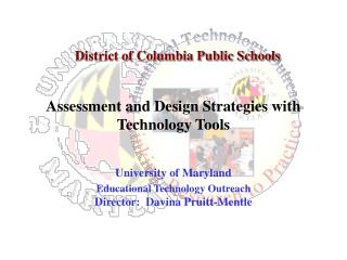 Assessment and Design Strategies with Technology Tools
