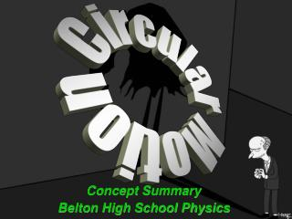 Concept Summary Belton High School Physics