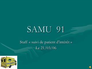 SAMU  91