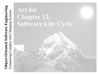 Art for Chapter 12, Software Life Cycle