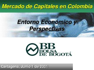 Mercado de Capitales en Colombia